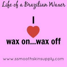Life of a Brazilian Waxer #esthetician #waxing #brazilianwaxing #smoothskinsupply #se-brazilwax #eyebrowaxing #waxing
