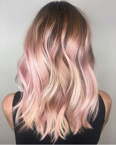 21 Rose Gold Hairstyles That Are Total Hair Goals - Society19 #ad rose gold hair color medium length hair