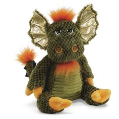 "Landley Green Dragon 18"" Plush Toy # 4034295 Gund NWT #GUND"