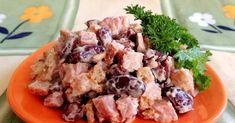 NapadyNavody.sk | 10 najlepších zeleninových šalátov: výživné a chutné Good Food, Yummy Food, Russian Recipes, Salad Recipes, Potato Salad, Salads, Tasty, Beef, Chicken