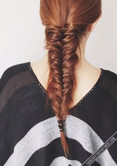 A lot of people have trouble getting texture without having their whole braid fall apart. Try adding this! (Click photo to read and get the link)