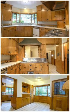 Kitchen design companies shaker style kitchen cabinets,parallel modular kitchen black kitchen island table,kitchen island cart on wheels small kitchen carts and islands. 1930s Kitchen, Vintage Kitchen Cabinets, Retro Kitchen Decor, Kitchen Interior, Kitchen Design, Coca Cola Decor, Wood Interiors, Vintage Farmhouse, Warm