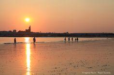 Balade du soir sur la plage de Royan - Juillet 2013