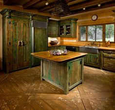 Com Custom Cabinets For Kitchen Custom Kitchen Island And Reclaimed