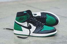 1c09b3ca754b1c Jordan Brand postanowił powiększyć swoje portfolio butów Air Jordan 1 o  nową kolorystykę nazwaną Pine Green