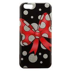 Disney Minnie Mouse Bow iPhone 6 Case | Disney StoreMinnie Mouse Bow iPhone 6 Case - Tie a neat ribbon on every conversation with Minnie's protective clip case for iPhone 6, featuring her famous polka dot bow and glitter galore!