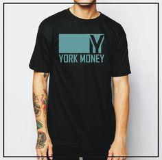 Camiseta exclusiva e estilosa YORK MONEY.
