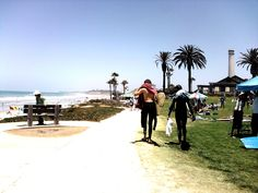 Photo by Akiko Bremar: Del Mar Beach, CA