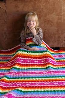 Love this blanket! Free pattern on this blog. :-)