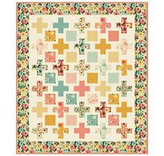 Free Quilt Pattern featuring Fancy & Fabulous Fabric Line by Fancy Pants Designs for Riley Blake Designs #iloverileyblake #rileyblakedesigns #fancyandfabulous