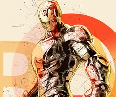 Iron Man Print, Iron Man Art, Iron Man Poster, Iron Man Decor, Avengers Art Avengers Print Printable Superhero