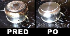 Ako účinne vyčistiť pripálený hrniec
