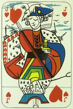 Salvador Dali, Jack of Hearts