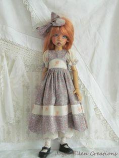 "Kaye Wiggs Layla Hope Lasher 18"" 45cm BJD Vintage Style OOAK Set Handmade by JEC   eBay"