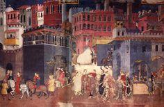 Resultado de imagem para Ambrogio Lorenzetti