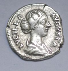 Lucilla wife of Lucius Verus Augusta AD by AncientCoinstore