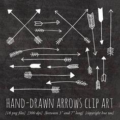 Hand-drawn arrow tattoo ideas