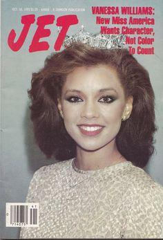 Jet Magazine October 10 1983 Vanessa Williams Miss America | eBay