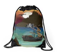 Pirate Ship Moonlight Voyage