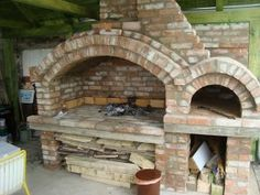 outdoor hearth/fireplace