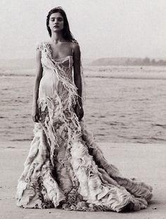 Oyster Dress, Alexander McQueen SS 2003