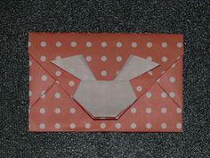 折り紙 ~ポチ袋:うさぎ(1)~ - えつこのマンマダイアリー