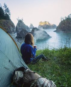 Oregon Camping, Camping Spots, Camping And Hiking, Backpacking, Camping Hacks, Wanderlust, Camping Coffee, Nature View, Trekking