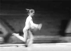 Groshkova not only threw a double-double back in 1989, she threw a double full-in back out in 1989. Ya know, no biggie (gif of Tatiana Groshkova)