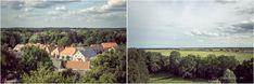 Aussicht vom Burgturm der Burg Lenzen