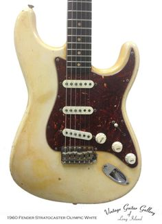 This is the rarest  of the rare when it comes to the history of Fender® Stratocaster®.  This  guitar is 100% original and has a super cool looking original tortoise  shell pick guard specially ordered by the original owner.  Most of these  guitars came with white pick guards, but if you have seen Fender®'s  Custom Shop Reissue  model of the 1960 Strat® than you will see that  even the boys at the custom shop thought they should all have looked  this way.  This one is the real deal 100%…