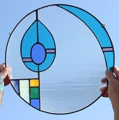 Stained Glass Window Pane...