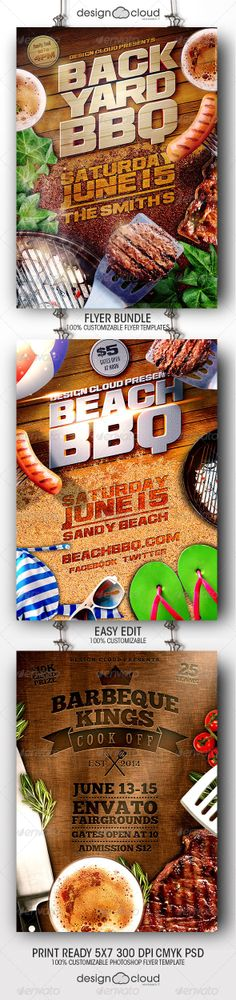 Barbecue BBQ Party Flyer Template Party flyer, Club parties and - bbq flyer