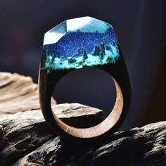 Read These Wooden Rings Hold Tiny Worlds Within Them
