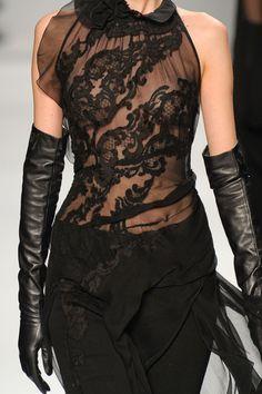 Elie Tahari.  I love black... gorgeous.