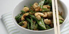 Grønn bønne-wok med cashewnøtter – Berit Nordstrand