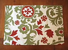 Autumn Thanksgiving Placemats reversible  by PrettyPillowsDecor, $52.00