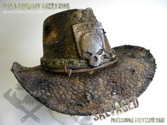 Post Apocalyptic Costume - Wasteland Ranger's hat. SALVAGED Ware enquiries always welcome @ www.markcordory.com