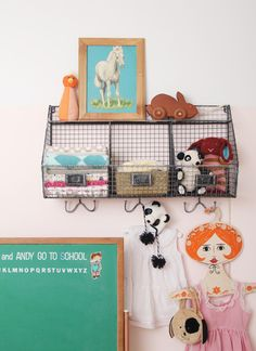 Tour of a modern nursery with vintage elements - Making Nice in the Midwest