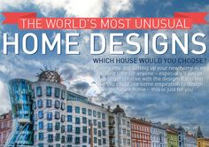 INFOGRAPHIC: 8 of the world's most unusual dream homes