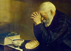 Grace: 1918 photographMinnesota designated Grace as the official state photograph in The 1918 world-renowned photo depicts an elderly man bowing his head and giving thanks. The photograph was taken in Bovey, Minnesota by Swedish immigrant Eric Enstrom. Man Praying, Short Prayers, Sign Of The Cross, 7 Places, Religious Pictures, Canvas Designs, Canvas Prints, Art Prints, Oil Painting Reproductions