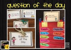 How to use question of the day in the classroom