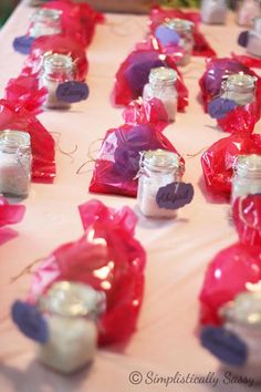 Spa Party Party Favors