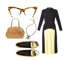 A classic fashion forward office look with Miu Miu glasses Miu Miu Frames, Miu Miu Glasses, Classic Style, Classic Fashion, Office Looks, Office Dresses, Office Fashion, Love S, Fashion Forward