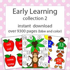 early learning collection 2 download for preschool and kindergarten