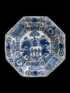 ♥ ~ ♥ Blue and White ♥ ~ ♥ Dish Place of origin: Portugal (made) Lisbon (city), Portugal (made) Date: 1644 (dated) Artist/Maker: unknown (production) Materials and Techniques: Tin-glazed earthenware