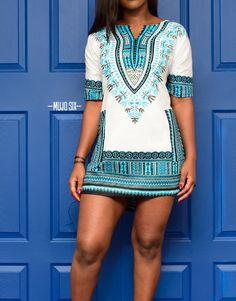 100% original cotton custom cut dashiki dress. Each garment is tailored to size. Measure your bicep by wrapping a tape measure around the largest part of your arm.. See the size chart below for instruction on measuring your bust, waist, and hips properly.
