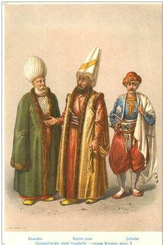 Kazasker (Kadi El Asker) - Kaptan Paşa -Çuhadar