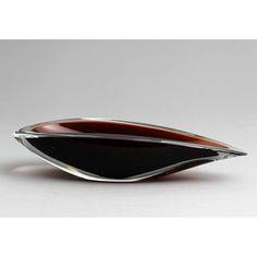 KAJ FRANCK - Glass bowl for Nuutajärvi Notsjö, Finland.