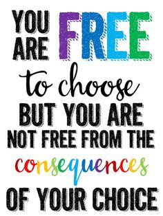 You are FREE to Choose (technology rocks. seriously.)                                                                                                                                                                                 More