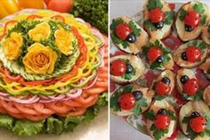 Cele mai originale 23 moduri de servire a aperitivelor Creative Food Art, Food Garnishes, Teller, Avocado Toast, Ratatouille, Sushi, Deserts, Breakfast, Ethnic Recipes